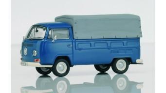 VW T2a Pritsche Plane neptunblau