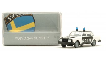 "Volvo 264 GL ""Polis"" (Schweden)"