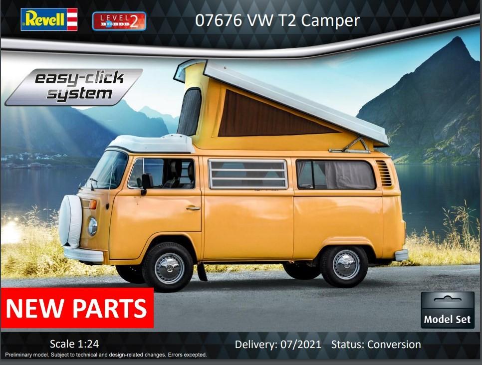 VW T2 Camper mit Aufstelldach
