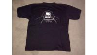 """T-Shirt """"Interessengemeinschaft T2"""" schwarz"""