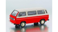 VW T3a Bus rot/weiß